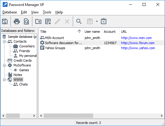 Password Manager XP - Il tuo archivio di password